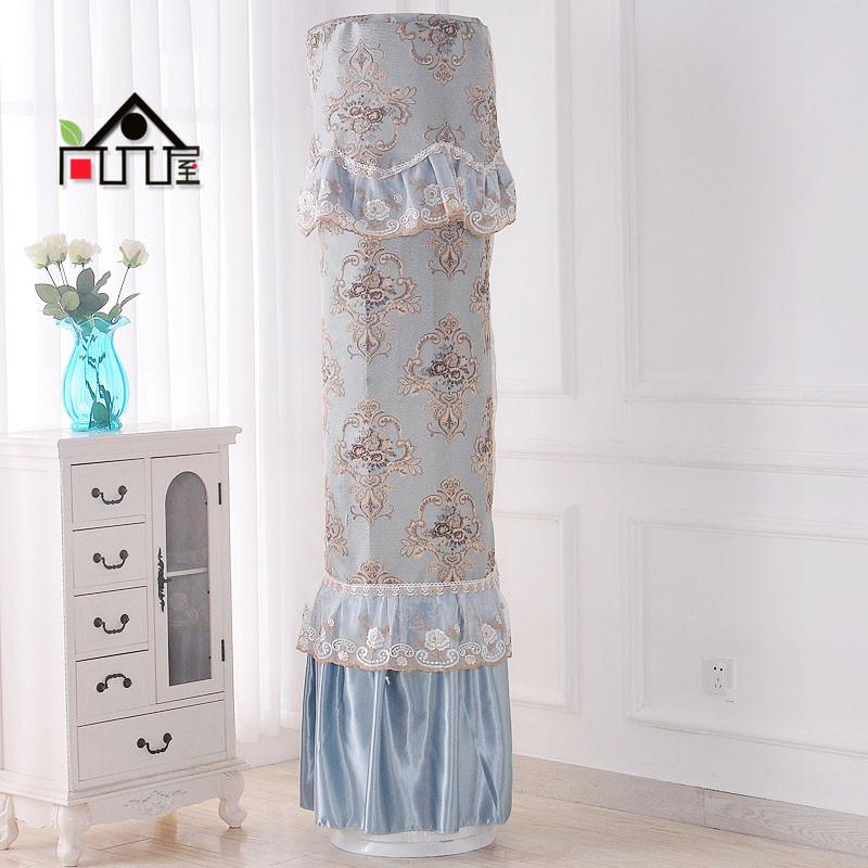 尚品屋 全包圆柱空调罩 美的布艺柜机罩格力空调套立式圆形空调防尘罩图片