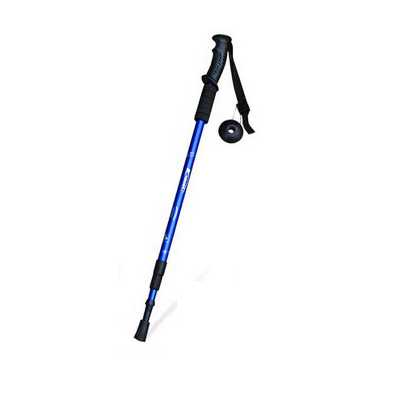 登山杖 户外超轻便携式直柄三节徒步登山手杖