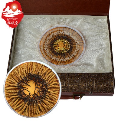 福曦堂 西藏那曲 3根/克手提禮盒 內裝40克 冬蟲夏草 高海拔