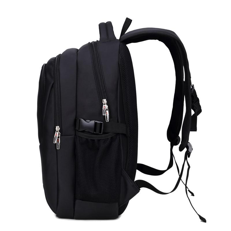 新款双肩包男士背包韩版高中学生书包商务休闲旅行包电脑包wel