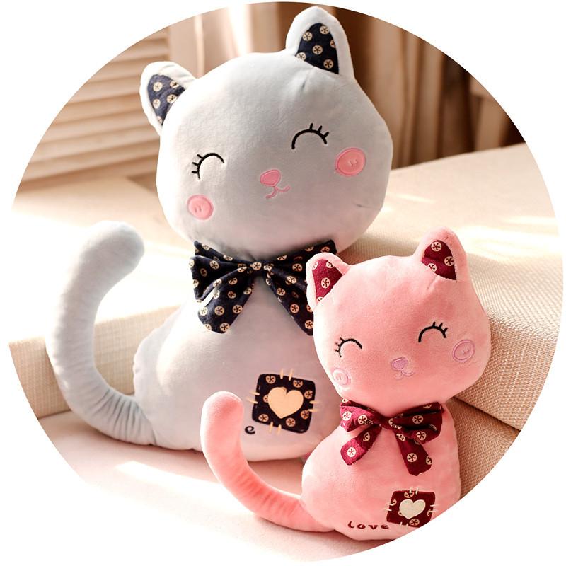 可爱猫咪公仔脸猫毛绒玩具抱枕布娃娃玩偶生日礼物送女生礼品