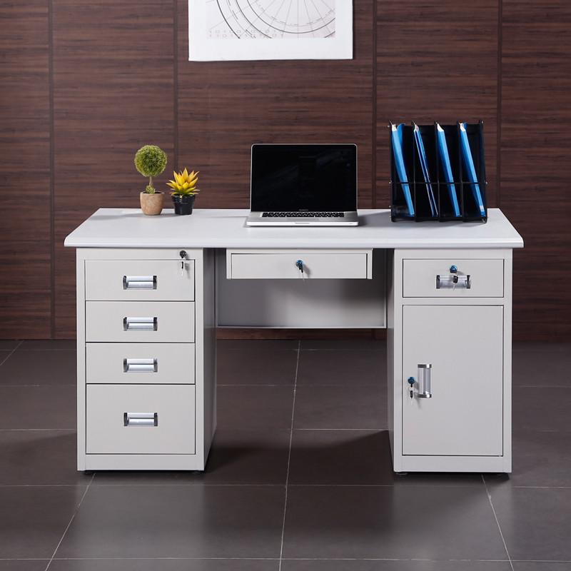 1.6米办公桌组装步骤图