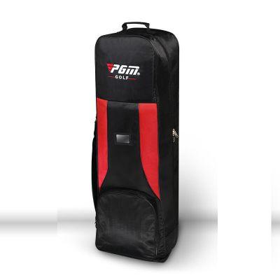 高爾夫航空包 加厚型雙層飛機托運包 帶滑輪高爾夫球包 高爾夫雙層航空包