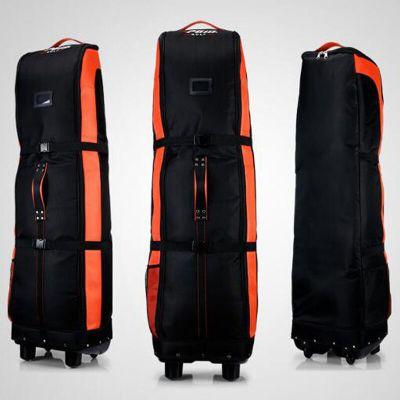 高爾夫航空包 加厚型航空包底盤帶滑輪 高爾夫飛機包 高爾夫托運包 高爾夫底盤雙層航空包