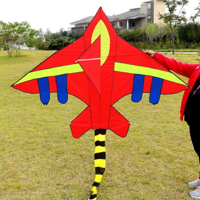 风筝 战斗飞机风筝 儿童卡通风筝 三角风筝