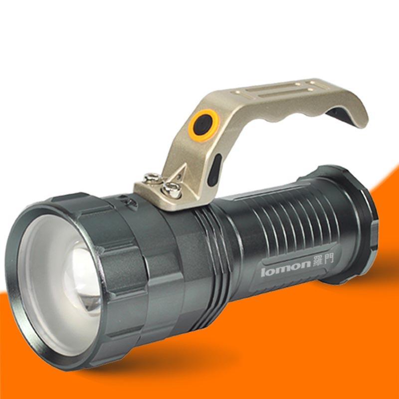 手电筒 矿灯 充电手提探照灯图片
