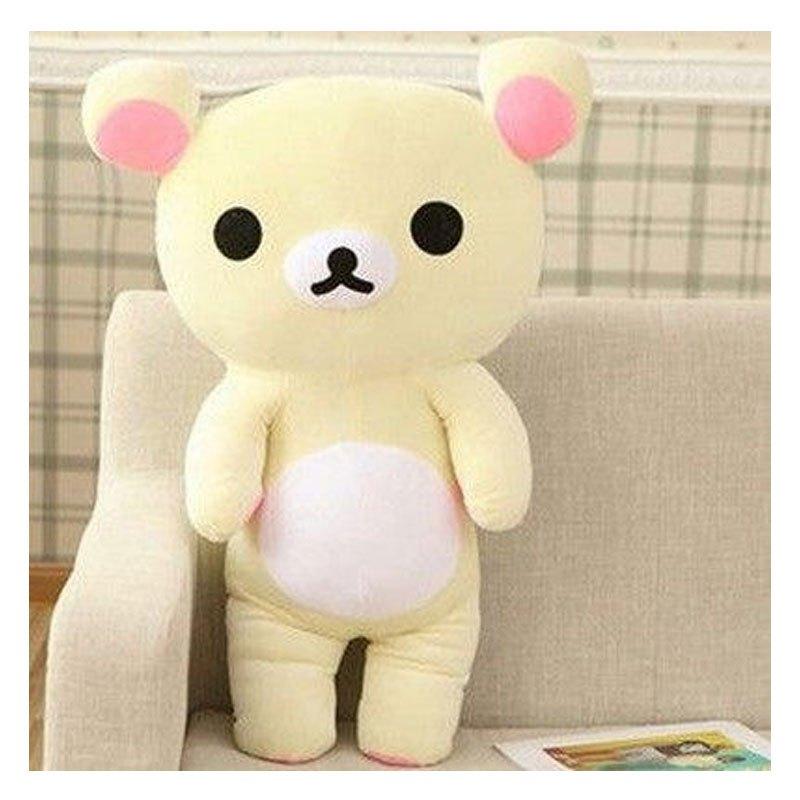 男女宝宝娃娃可爱轻松熊公仔易烊千玺毛绒玩具布娃娃玩偶抱枕抱抱熊送