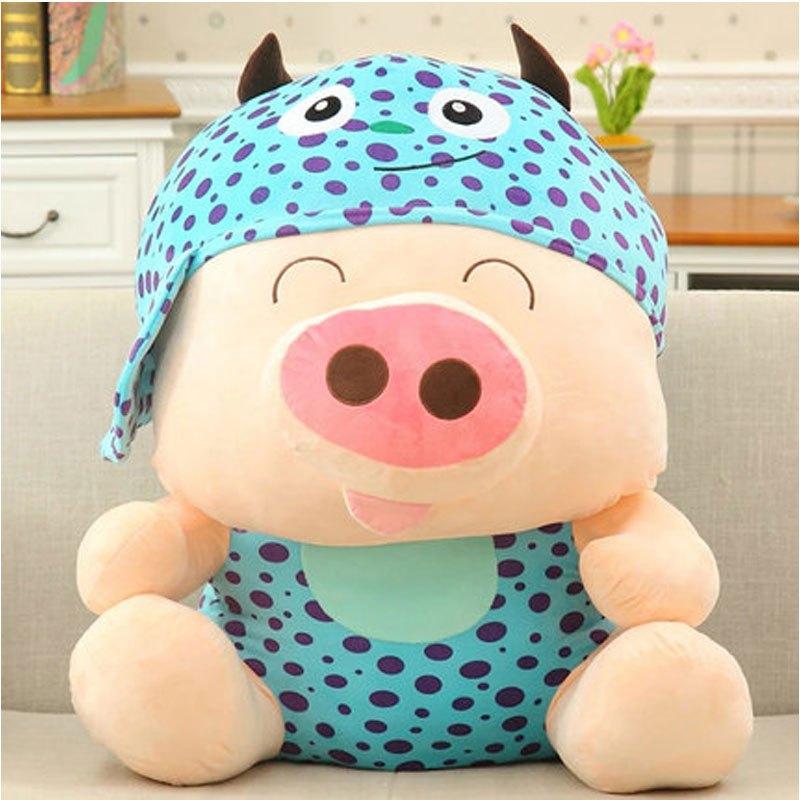 麦兜猪公仔毛绒玩具小猪猪抱枕麦兜布偶娃娃可爱女生玩偶大号礼物2017