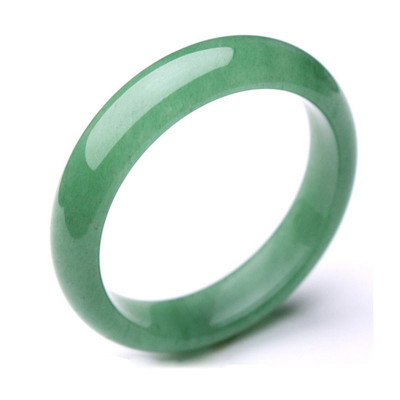 帛蘭梓韻 天然東陵玉手鐲冰種玉鐲子女款手飾翠綠色時尚玉鐲子