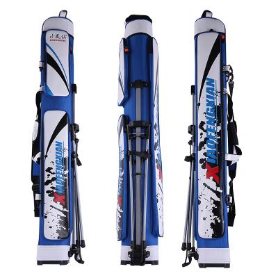 小凤仙1.25米渔具包钓鱼包防水鱼杆包多功能台钓海杆防水钓竿包