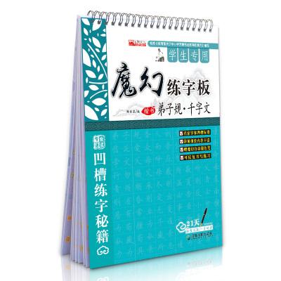 汉字手写行楷规范(规范字全掌握)/墨点字帖 凹槽字帖 送魔幻水笔+2只笔芯I