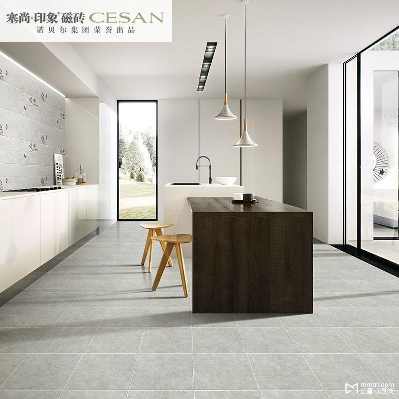 诺贝尔瓷砖 仿古砖新中式 亚光砖地砖厨房卫生间防滑念奴娇【地砖】cn图片