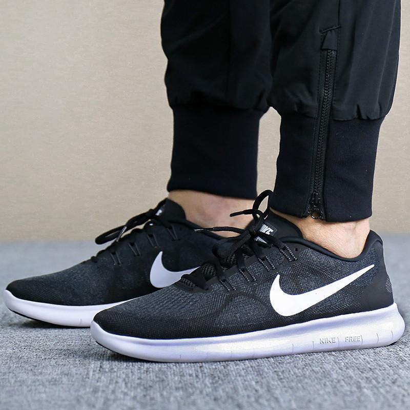 Nike/耐克男鞋运动鞋轻便缓震free5.0赤足透气跑步