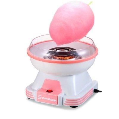 班尼兔(Pink Bunny) 棉花糖机家用儿童棉花糖机器电动自制棉花糖机器 蓝色