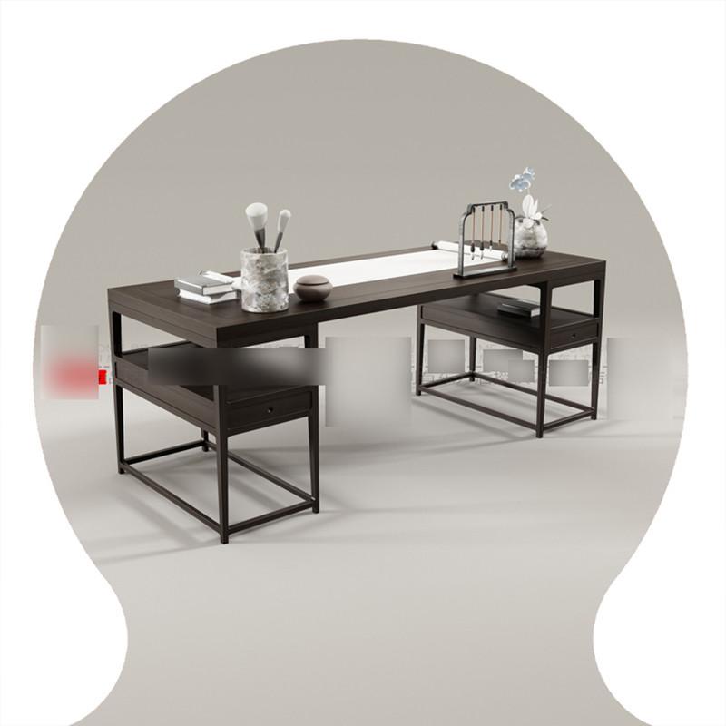 淮木 新中式书画桌 书房书法桌 实木书桌设计师家具