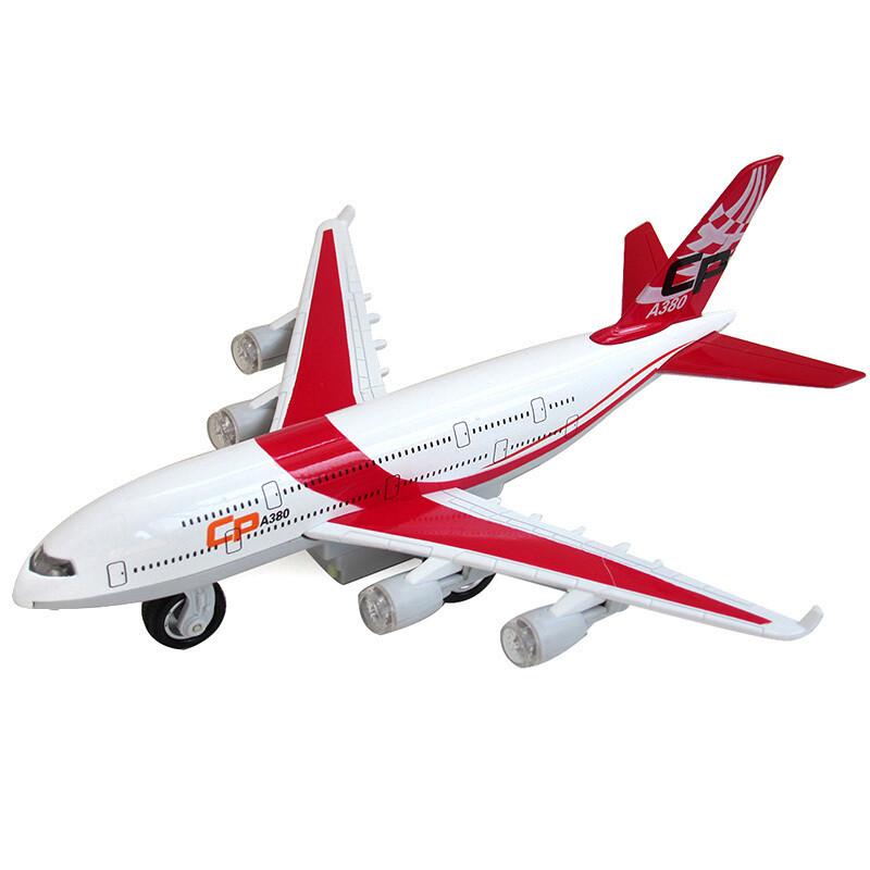 模型之家合金飞机模型仿真航空客运飞机电动声光玩具送儿童节生日礼物
