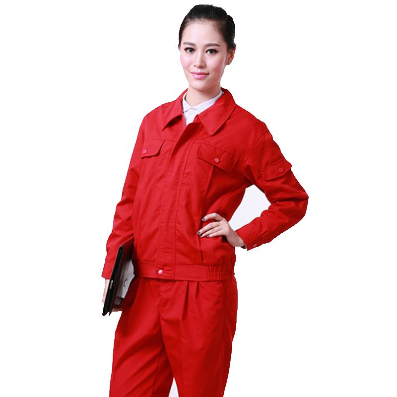 韩版运动服饰汽车维修工衣班服工作服冬季帆布劳保服工作服