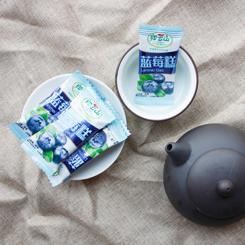 归云山 蓝莓糕 休闲零食 蜜饯 蓝莓小吃 独立小包 江西特产绿色食品
