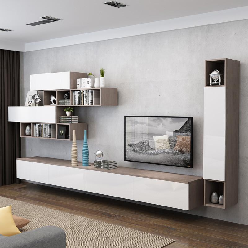 佰丽爱家电视柜 北欧电视机柜定做现代简约组合家具简约客厅餐边柜图片