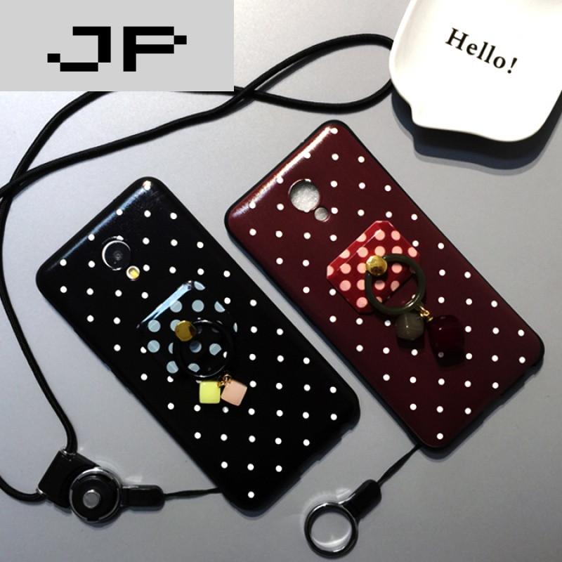 jp潮流品牌魅蓝e手机壳女款个性创意日韩国波点硅胶全