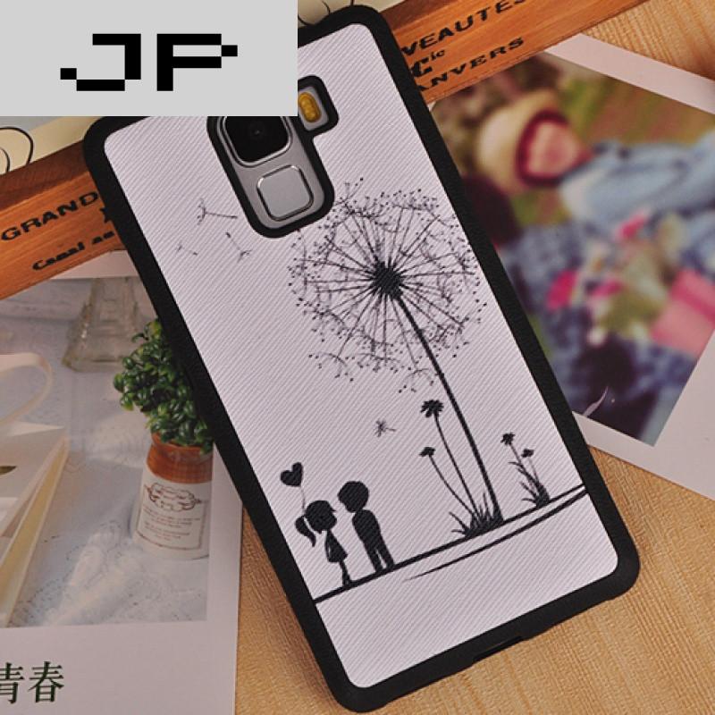 jp潮流品牌华为荣耀7手机套外壳可爱plk保护套al10卡通手机壳简约卡通