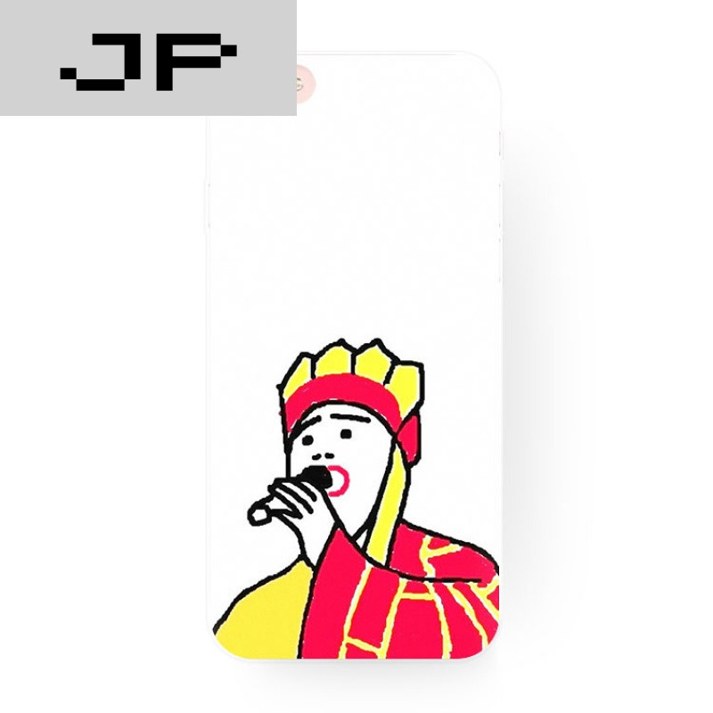 jp潮流品牌恶搞个性儿童简笔画 唐僧 苹果6s iphone7