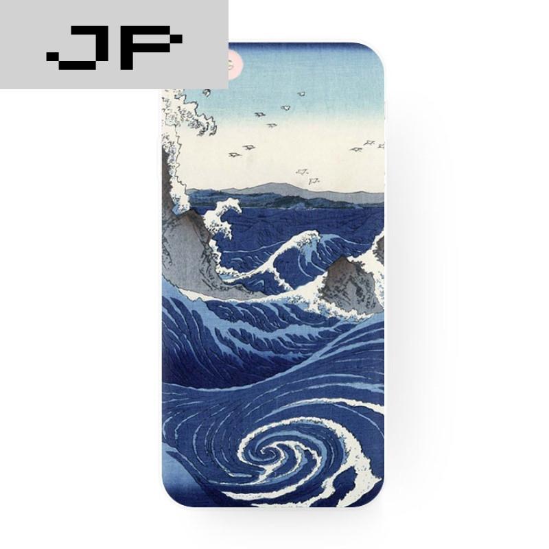 jp潮流品牌原创复古日系和风海浪 苹果7 i6s手机壳iphone5s6s plus