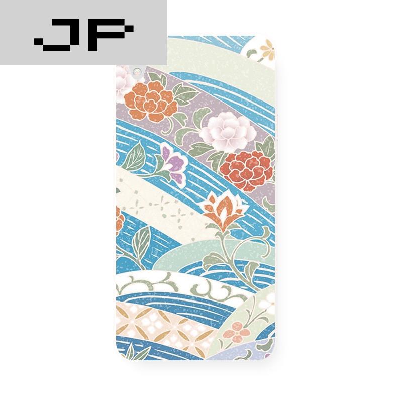 jp潮流品牌原创日本和风浪花花朵复古文艺磨砂 oppo r9 r7s r7plus 手