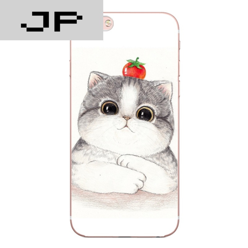 jp潮流品牌日系可爱卡通肥猫咪 苹果6s iphone7 plus5
