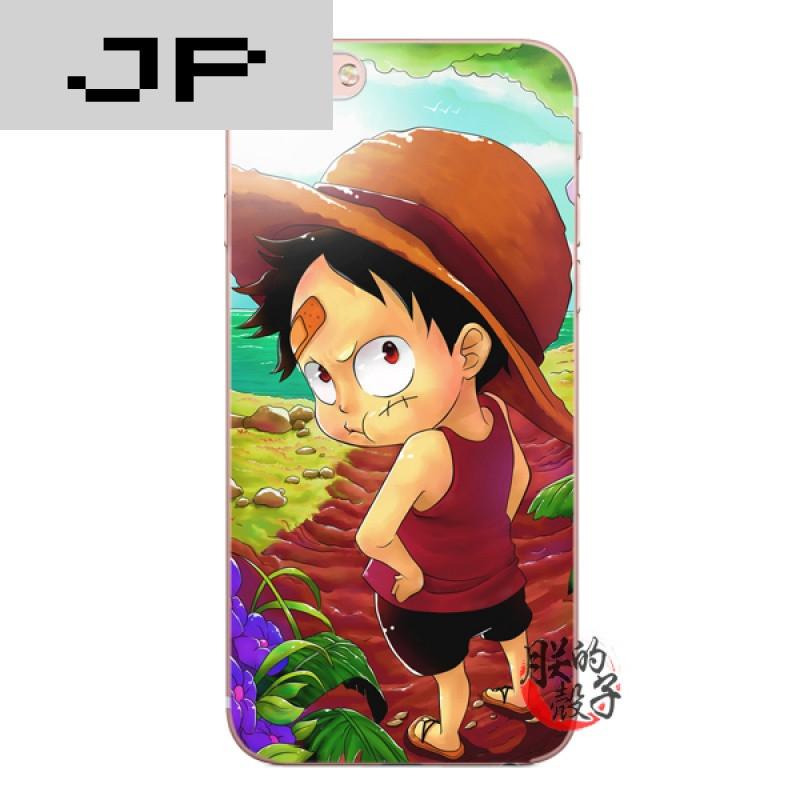 jp潮流品牌日本动漫可爱小路飞苹果iphone7 6s 5c 5s 6plus手机壳全