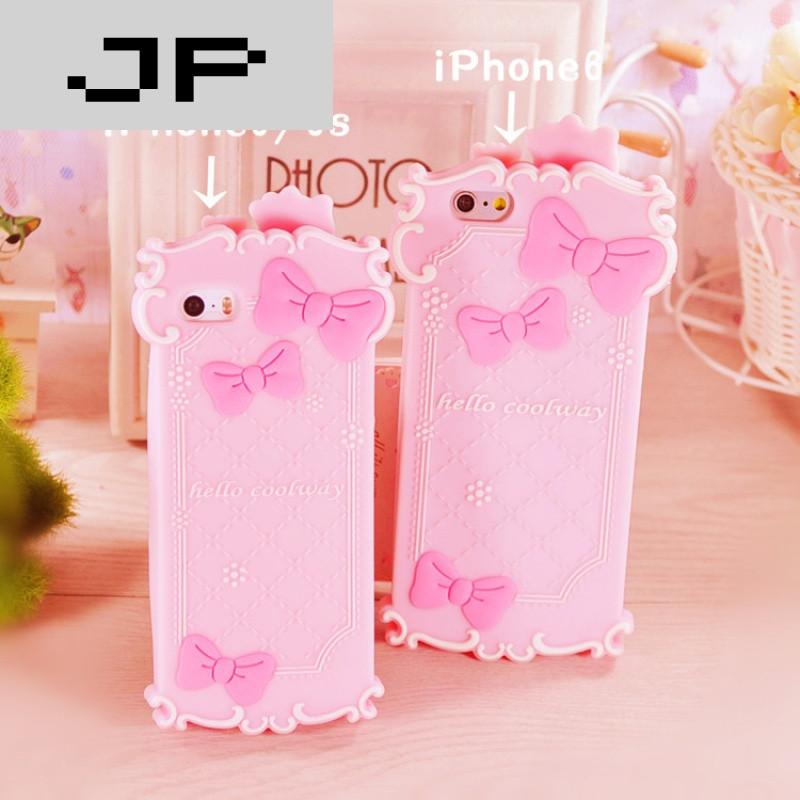 jp潮流品牌可爱猫咪手机壳苹果iphone4s/5s/5c/6s外壳