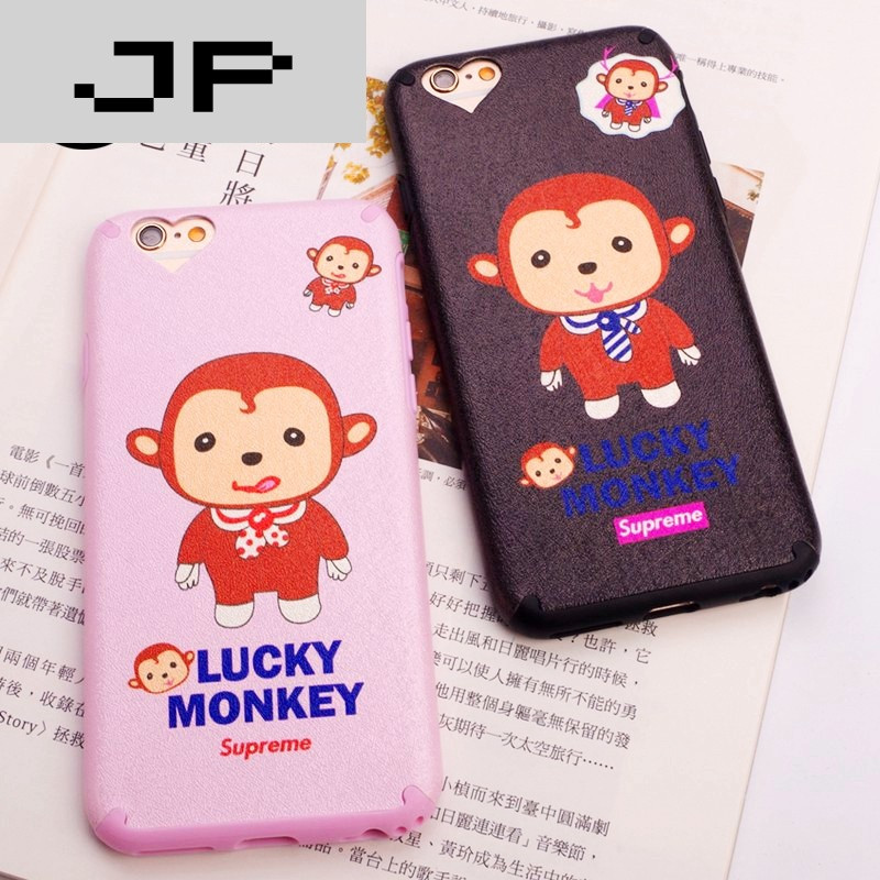 jp潮流品牌 苹果6手机壳可爱iphone6plus手机壳6s全包