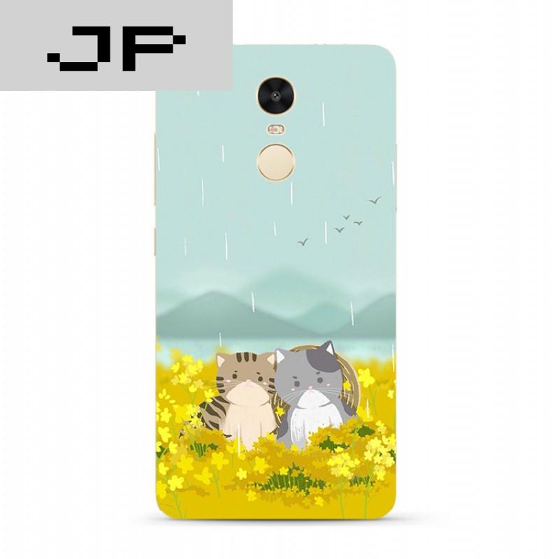 jp潮流品牌日韩手绘红米3s note4x 3 4a pro手机壳可爱卡通猫咪全包