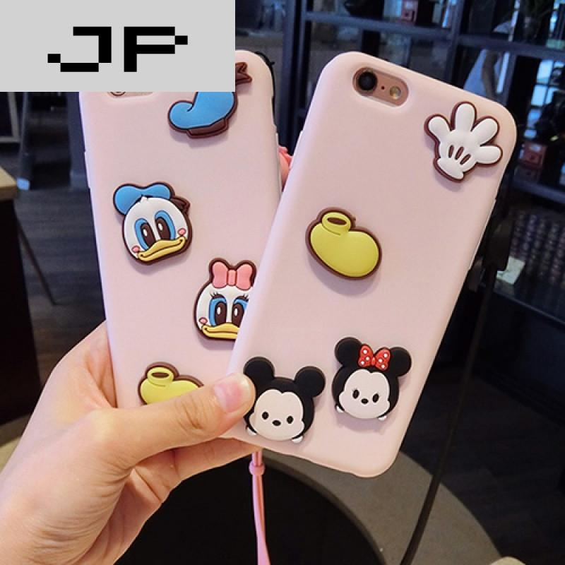 jp潮流品牌oppora59s手机壳女卡通kt猫可爱a57硅胶软全包防摔a37米奇