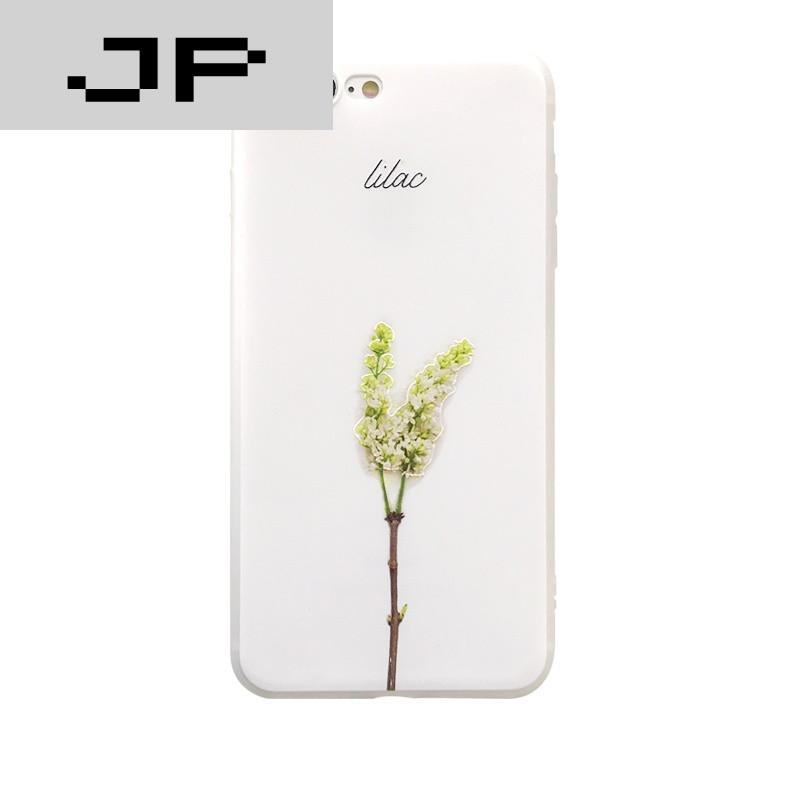 jp潮流品牌小清新花朵iphone7plus手机壳硅胶苹果6plus保护套6s软壳女