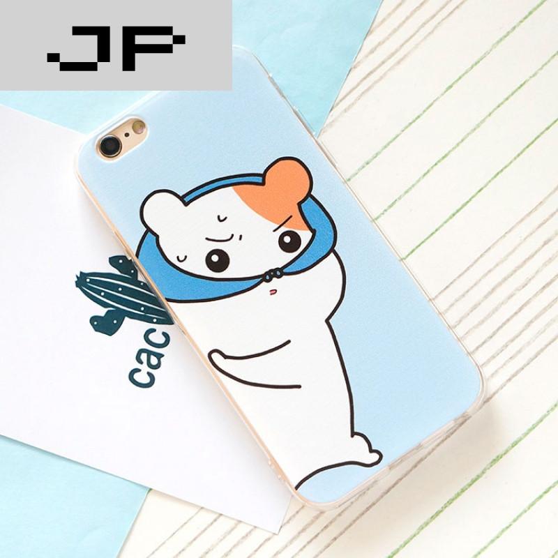 jp潮流品牌仓鼠哈姆太郎苹果6s手机壳iphone6plus可爱