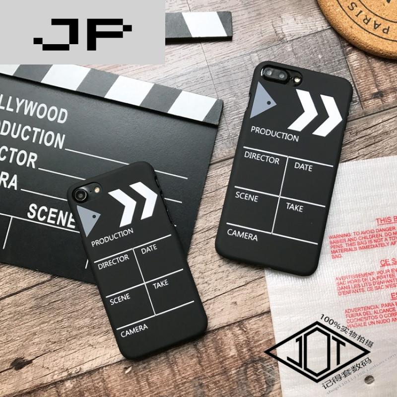 jp潮流品牌创意电影卡板iphone7plus手机壳个性潮款苹果6s硬壳磨砂