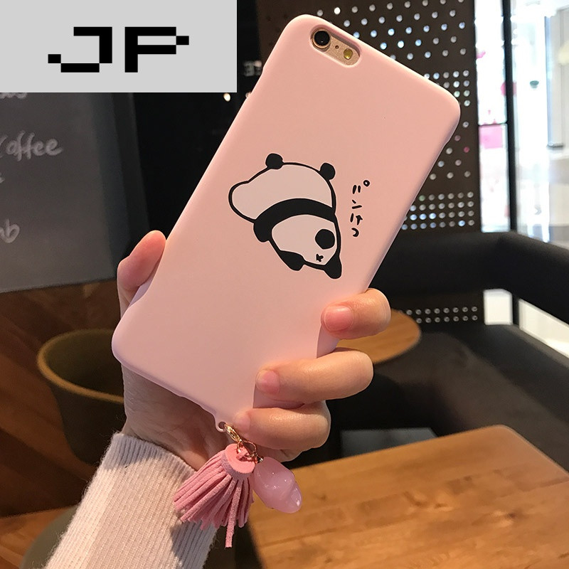 jp潮流品牌呆萌可爱小猪熊猫 苹果6手机壳iphone7/6s