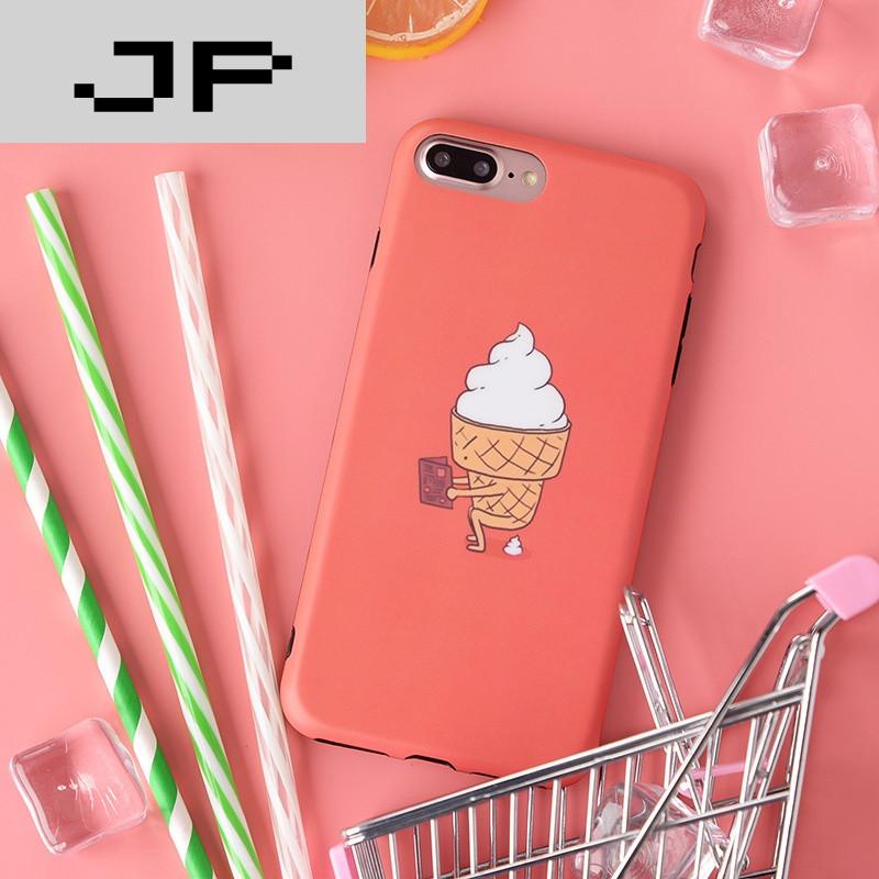 jp潮流品牌西瓜创意苹果7手机壳全包边硅胶软胶iphone