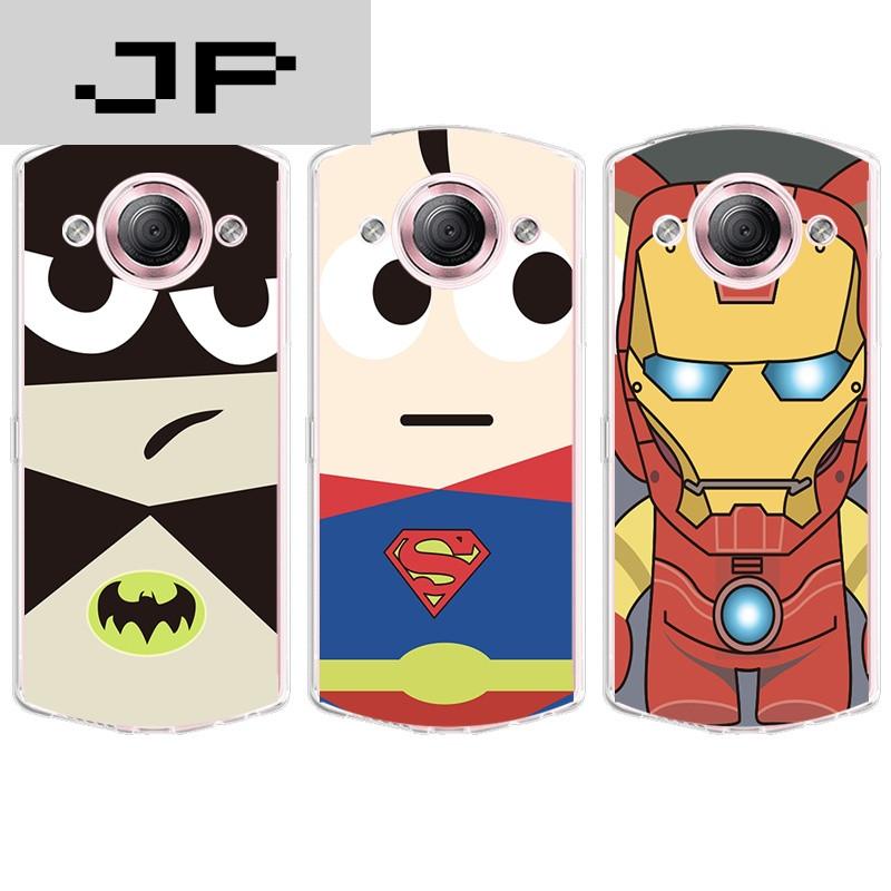 品牌美图m4/s/v4/s手机壳美图m6/s/t8超薄软壳卡通可爱超人蝙蝠侠硅胶