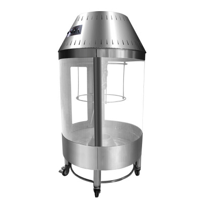 商用燒鴨爐木炭自動旋轉烤鴨機烤雞爐 烤鴨爐