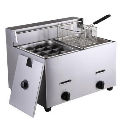 纳丽雅 商用电热关东煮机器多功能麻辣烫机器 燃气18格