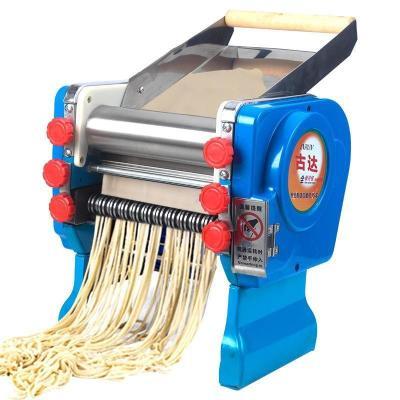 古达 面条机商用电动压面机家用饺子皮馄饨皮机器 180型不锈钢面棍款