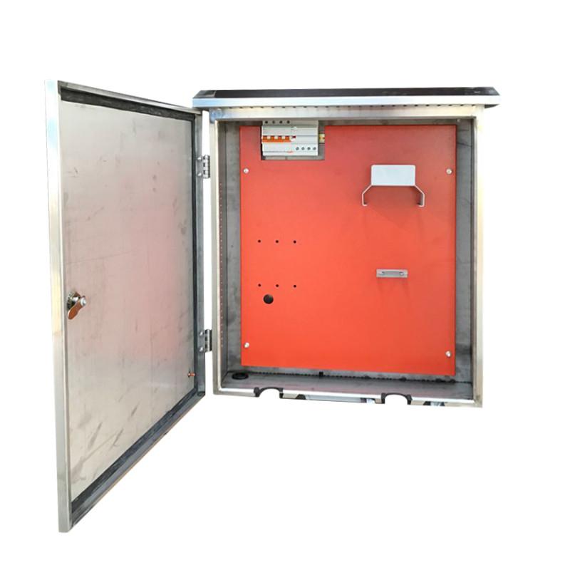 聚材网 新能源汽车专用三开电器充电桩配电箱 jxf系列