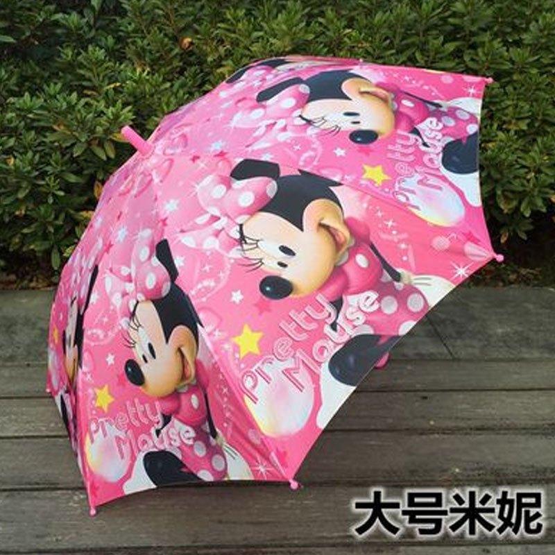 儿童雨伞女小孩宝宝雨伞卡通可爱公主荷叶边小学生男女孩幼儿园精品直