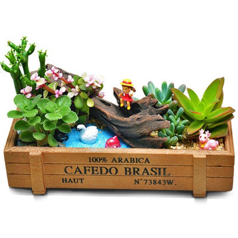 (含盆)创意多肉植物组合套装家居办公室桌面绿植盆栽微景观diy送女
