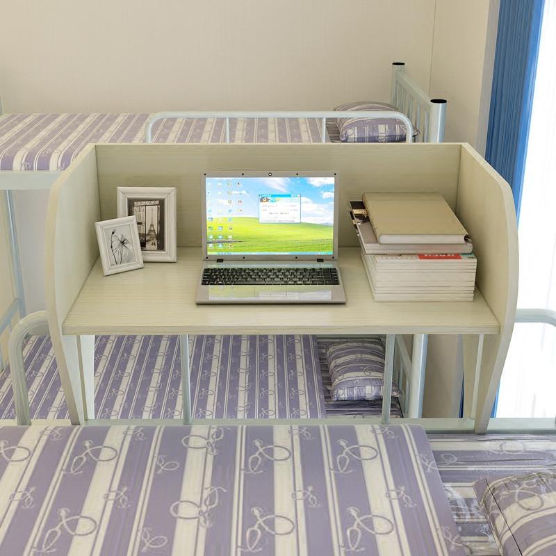 宿舍简易悬空上铺笔记本电脑桌子大学生床上用懒人书桌学习桌写字桌看图片