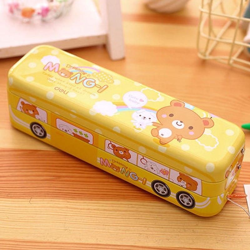 卡通男女文具盒多功能铅笔盒时尚创意可爱小学生奖品儿童 多色多款多
