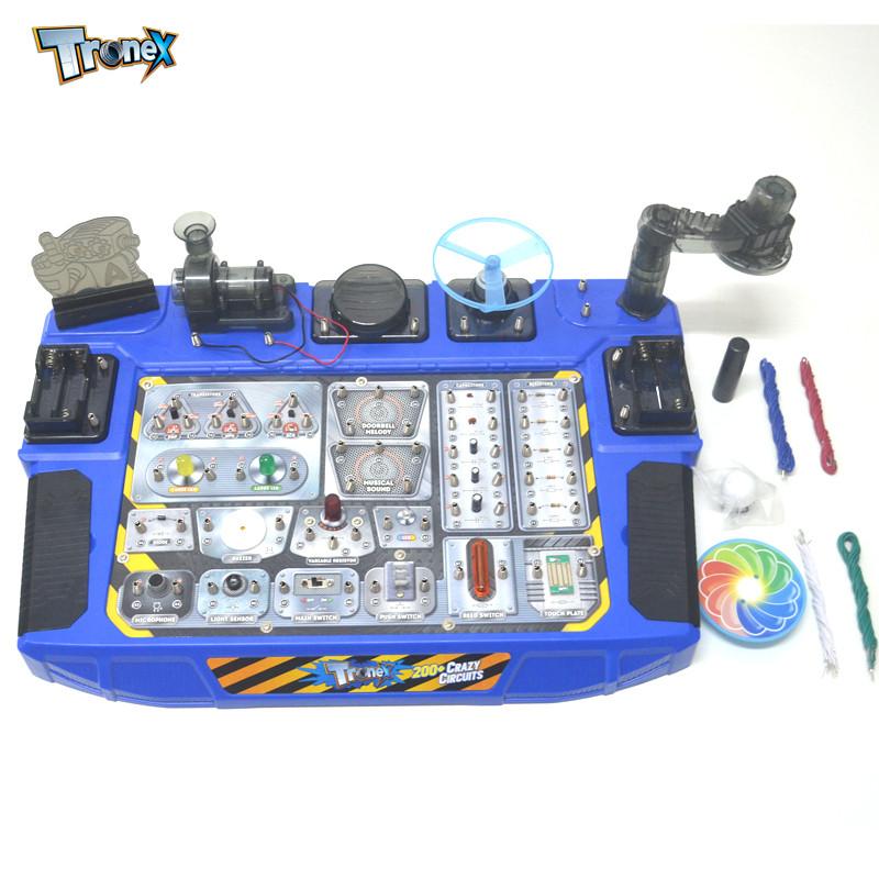 香港tronex儿童科学实验科技小制作科普diy益智学习小发明材料电路