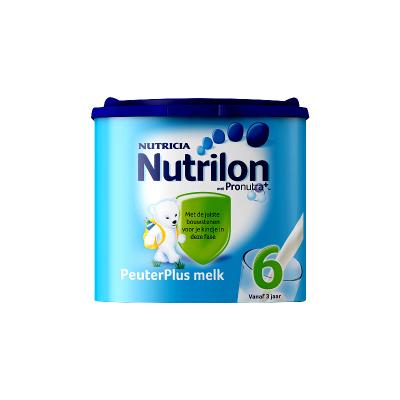 Nutrilon 荷蘭牛欄 諾優能 嬰幼兒奶粉 6段 3歲以上 400g/罐 紙桶裝